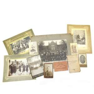 Archive photo and documents of the head of the railway station and his wife. NEW PRICE!