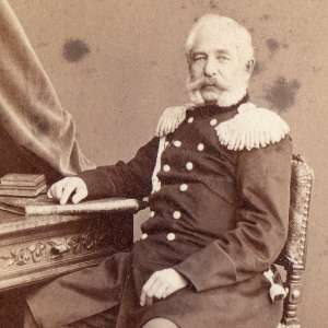 Rare early photo of General Volkov, 1865-67, NEW PRICE!