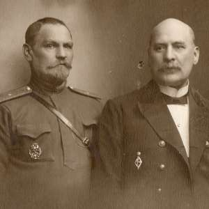 Photo of General-Medica RIA with a friend, Warsaw