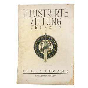 "The German magazine ""ILLUSTRIRTE ZEITUNG, 1944"