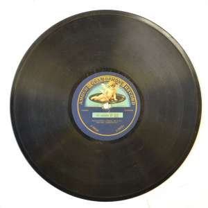 "The gramophone record, the band ""gramophone"""