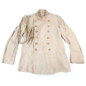 Summer white uniform of an officer of the army corps, 1904-1907,