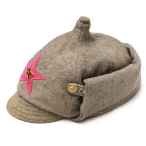 Winter helmet enlisted personnel of the infantry of the red army arr. 1936