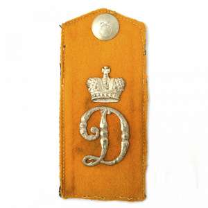 The shoulder strap of the Grenadier of the 1st company of the 16th Mingrelian Grenadier regiment