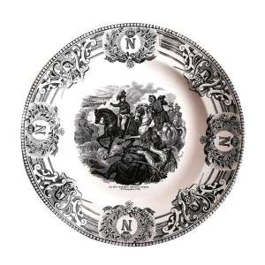 "Decorative plate ""General Massena before Zurich in 1799"""