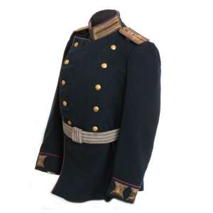 The uniform of captain of the 10th Infantry regiment, 1908.