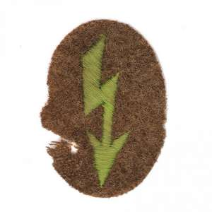 Sleeve patch Communicator African corps of the Wehrmacht (DAK)