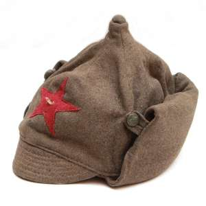 Winter helmet (budenovka) enlisted personnel of the infantry of the red army 1936 arr.