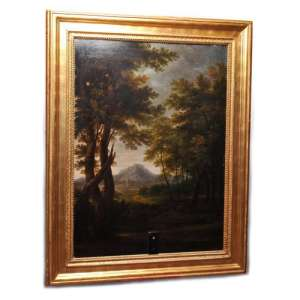 "Picture in a frame ""Italian landscape"""