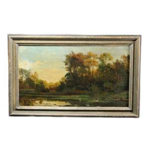 "Picture in a frame ""summer landscape"""