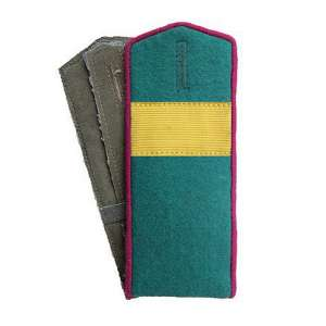 Shoulder straps front senior Sergeant of the border troops of the NKVD arr. by 1943, a copy of