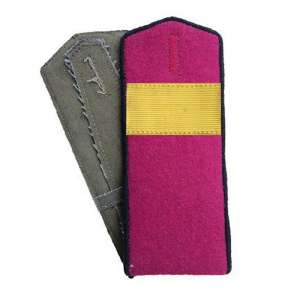 Shoulder straps front senior Sergeant in the infantry of the red army arr. by 1943, a copy of