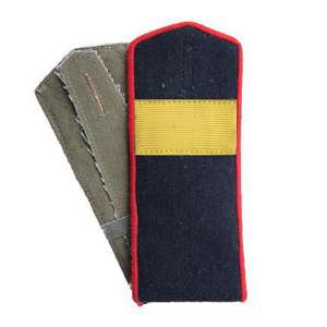 Shoulder straps front senior Sergeant ABTW or artillery of the red army arr. by 1943, a copy of