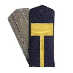 Shoulder straps decorated petty officer engineering troops of the red army arr. by 1943, a copy of