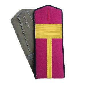 Shoulder straps ceremonial officers of infantry of the red army arr. by 1943, a copy of