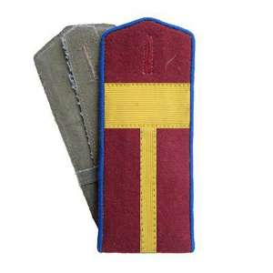 Shoulder straps the front of the NKVD officers arr. by 1943, a copy of