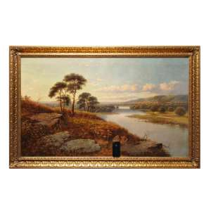 "The painting ""Summer landscape"""