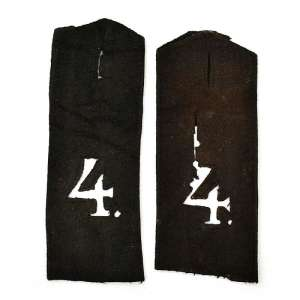 Pair of shoulder boards sailor of the 4th naval crew REEF