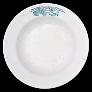 Soup plate of SENACYT USSR