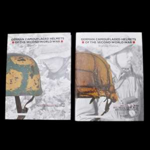 "Books ""German Camouflaged Helmets of the Second World. Vol.1 and Vol.2"""