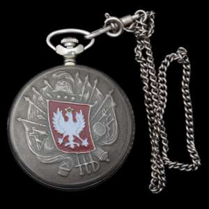 "Watch from the series ""coats of Arms of Russia: Poland"", the export version"