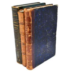 """The Russian genealogical book"" in three volumes, 1855-1895 gg"