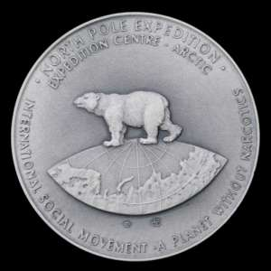 "Table medal ""North Pole Expedition"""