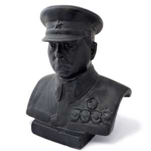 Bust of Marshal K. E. Voroshilov