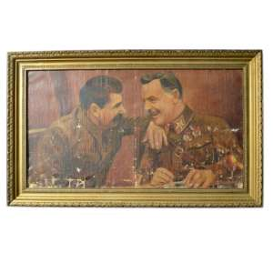 "The painting ""Stalin and Voroshilov"""
