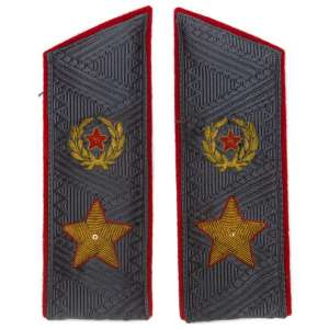Epaulets of General of the army of the sample in 1962