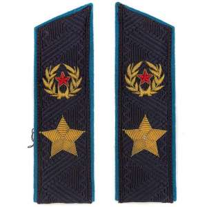 Epaulets of General of the army, the air force (?) sample 1962