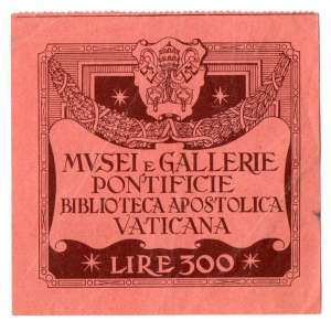 Ticket to visit the museums and the library of the Vatican