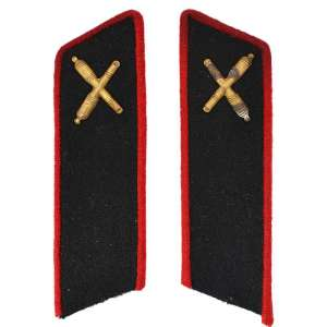 Buttonhole enlisted personnel of the red army artillery model 1935
