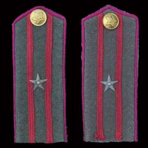 Epaulets of major of the red army infantry of the sample 1943