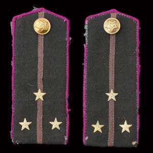 Epaulettes senior Lieutenant of the quartermaster service of the red army of 1943