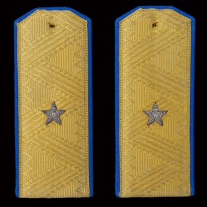 The shoulder straps of major General of air force of 1943