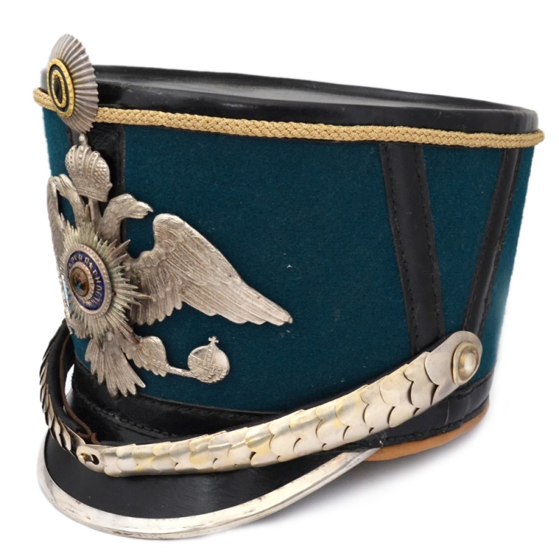 Shako officer of L-GW. Dragoon regiment of the sample of 1909, a copy of