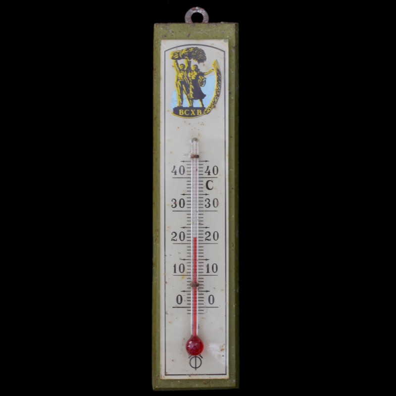 The thermometer with the symbols VSHV