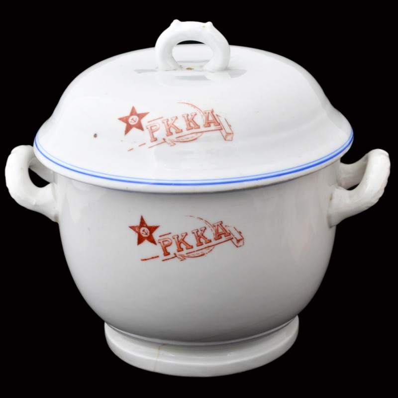 Tureen from the mess the red army