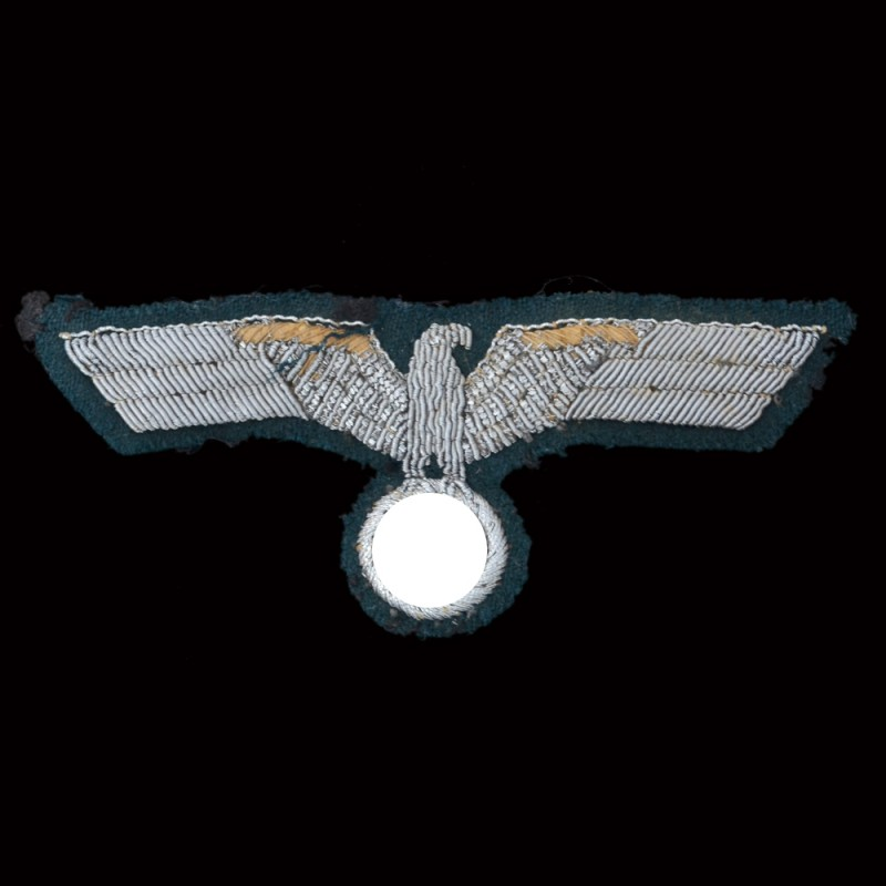 The patch on the uniform of a Wehrmacht officer