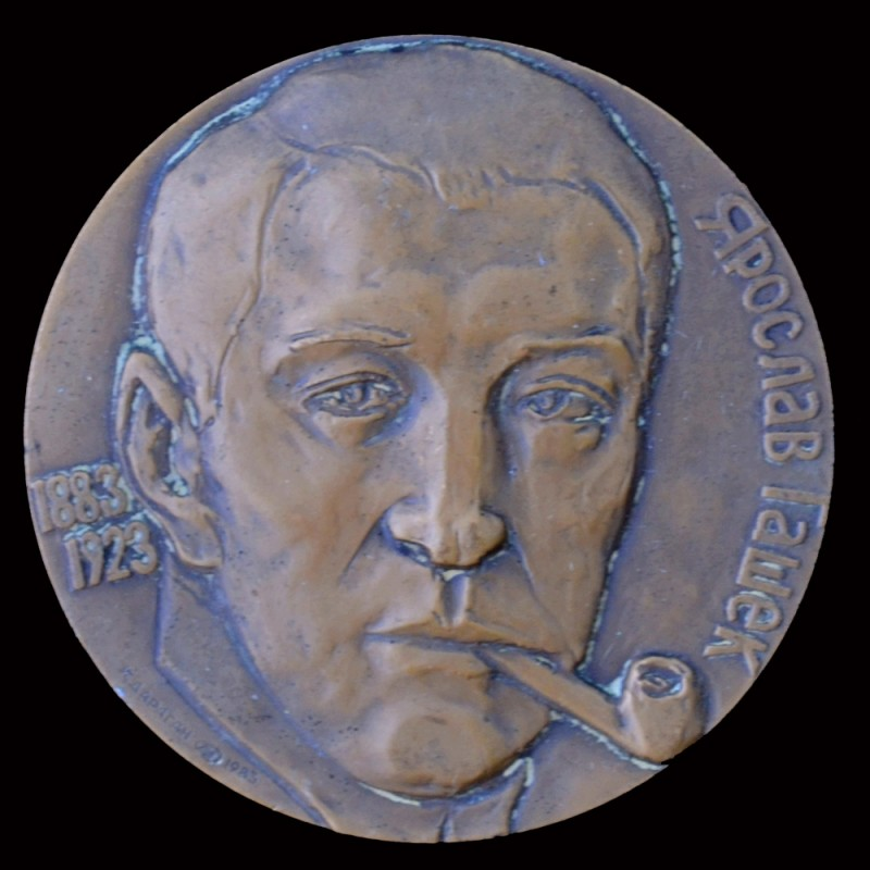 "Table medal ""100 years since the birth of Jaroslav Hasek"""