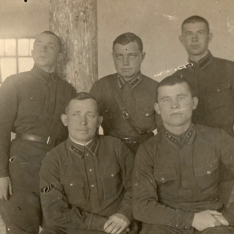 Photos of the commanders of WAUSAU/railway troops of the red army