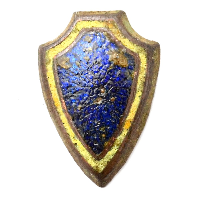 Lapel insignia (guard) of the police officer sample, 1928
